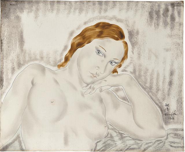 Léonard Tsugouharu Foujita, 'Femme Pensive', 1928, Phillips