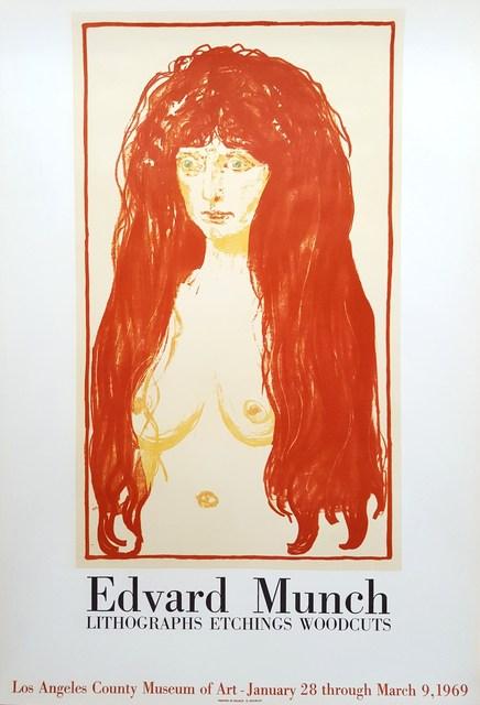 Edvard Munch, 'LACMA: Edvard Munch', 1969, Graves International Art