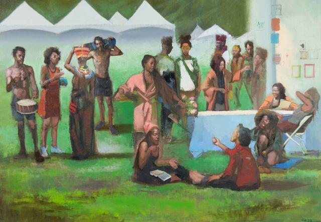 , 'Afro Punk Festival,' 2018, Bernarducci Gallery Chelsea