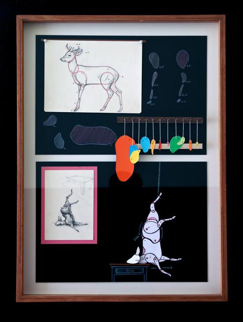 , 'Estudio de venado (Prototipo),' 2014, Galería Doce Cero Cero
