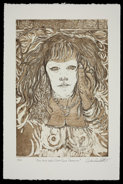 , 'One Kiss Before Death Sweet Desdemona,' 2012, Mount Holyoke College Art Museum