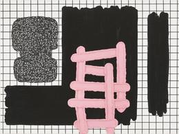 Jonathan Lasker Drawing