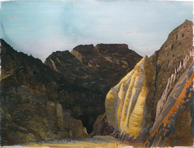 , 'Entrance to Black Canyon, Wadi Sheheret,' 1997, Charles Nodrum Gallery