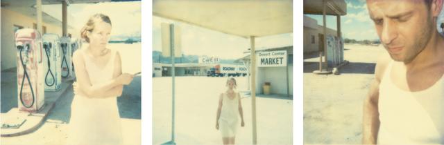 Stefanie Schneider, 'Gasstation (Stranger than Paradise)', 2000, Photography, 3 Digital C-Prints based on 3 Polaroids, not mounted, Instantdreams