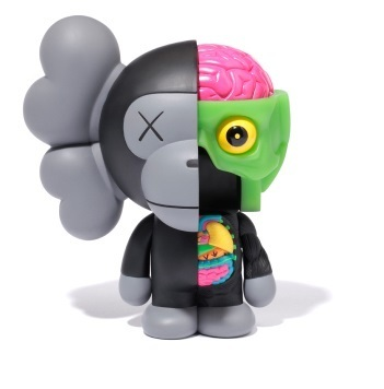KAWS, 'Dissected Milo (Black)', 2011, Lougher Contemporary
