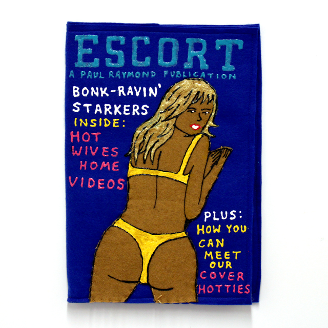 , 'Escort Magazine,' 2016, Station 16 Gallery