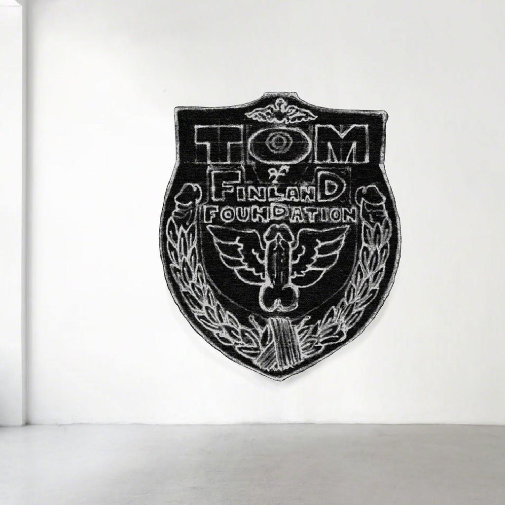 TOM OF FINLAND, Untitled (in situ), 1989