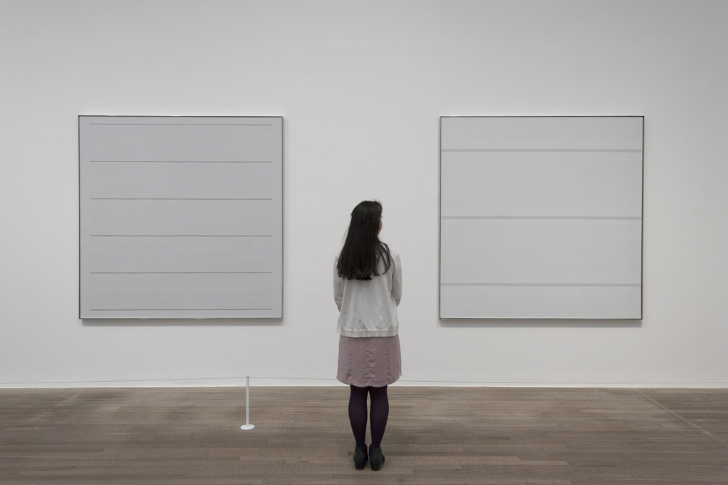 """Agnes Martin"" at Tate Modern (2015) Courtesy Tate Modern"