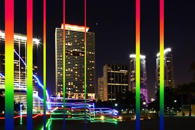 , 'Rainbow on Downtown Miami ,' 2017, Artists Studios