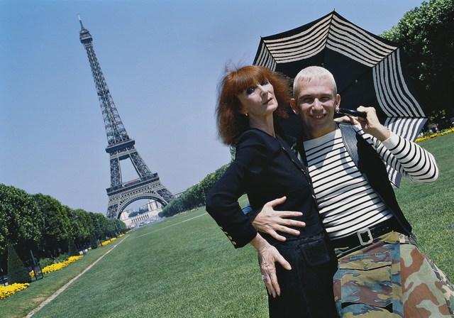 , 'Jean-Paul Gaultier and Sonia Rykiel,' , Photo12 Galerie