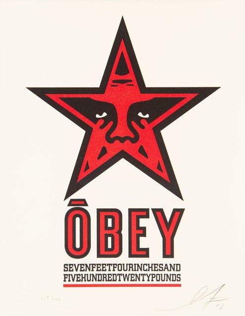 Shepard Fairey, 'Obey Star Letterpress', 2013, Heritage Auctions
