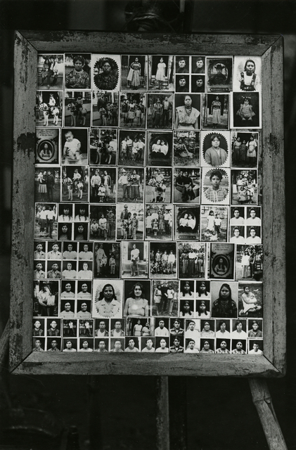 , 'Framed board showing photographer's samples,' ca. 1970, Deborah Bell Photographs