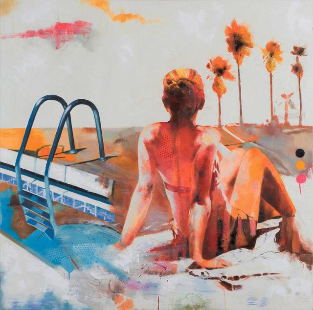 , 'Hot Water,' 2017, Galerie Montmartre