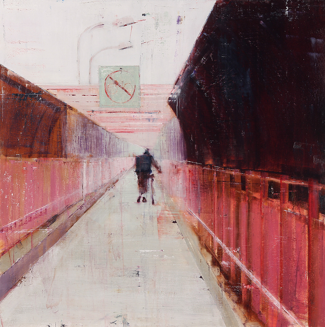 , 'Williamsburg Bridge, 7-8am (Waiting #175),' 2013, Jonathan LeVine Projects