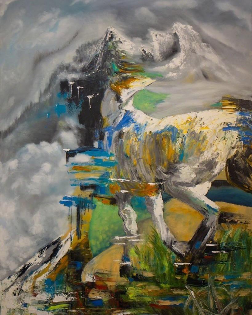 White Noise ~ Oil ~ Mariam Qureshi