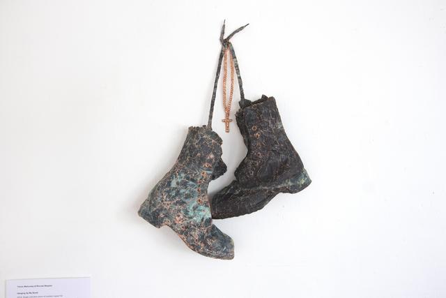 , 'Hanging up my boots,' 2014, Pari Nadimi Gallery