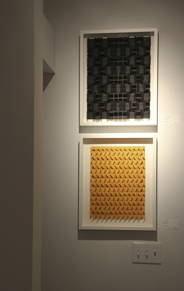 """""""Black Composition"""" and """"Points of Bright"""", Gregg Welz"""
