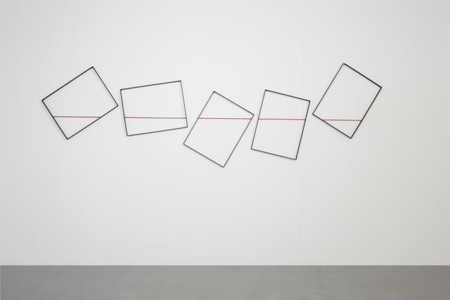 , 'Quadri Comunicanti. Filo rosso,' 2008, Cortesi Gallery
