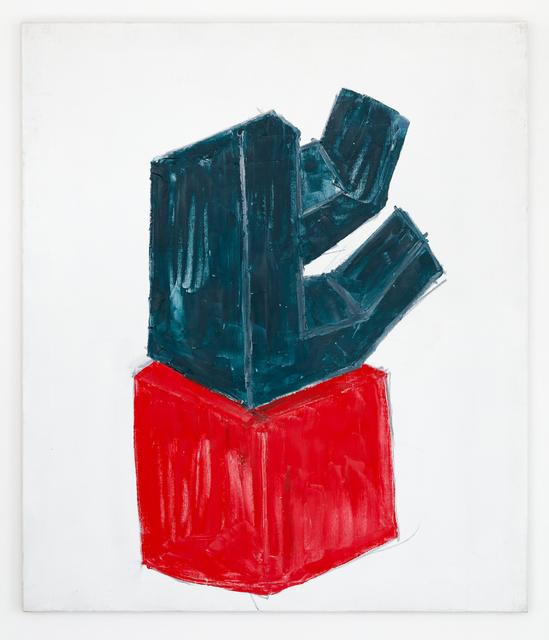 , 'Masonitskulptur,' 1998, Galerie Nordenhake