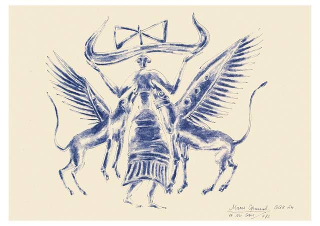 """, '""""Minoan series"""" 2,' 2001-2002, Krokin Gallery"""