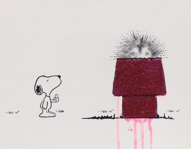, 'FU Snoopy and Crooked Mane (Red),' , Corey Helford Gallery