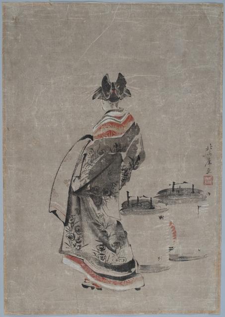 , 'Courtesan with Odawara Lanterns,' 1799, Sebastian Izzard LLC Asian Art