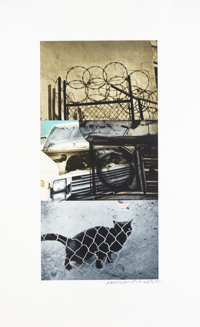 Robert Rauschenberg, 'STREET SOUNDS EAST', 1995, Print, Color photogravure on Chine collé on Arches paper, Doyle