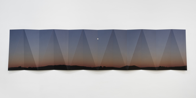 , 'Nevada Moonrise Metal Fold,' 2018, GRIMM
