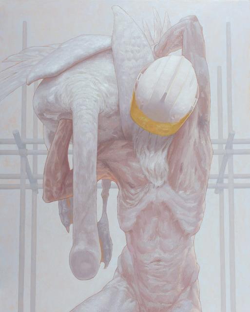 Dragan Bibin, 'Atlas', 2020, Painting, Oil on linen, Laufer