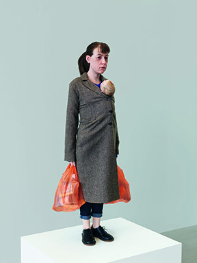 , 'Woman with Shopping,,' 2013, Modern Art Museum of Fort Worth