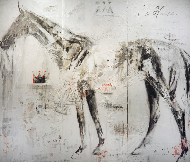 ", '""Orbit"" The Skin Horse II,' , Melissa Morgan Fine Art"
