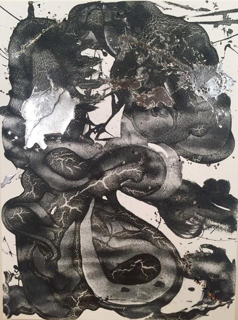, 'Carborundum and Silver (Mantis),' 2016, David Richard Gallery