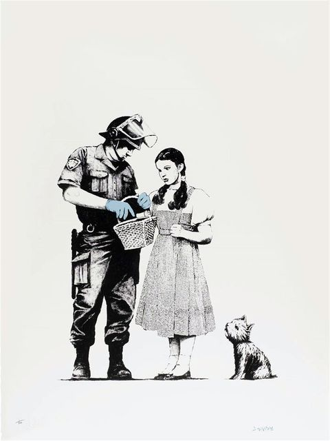 Banksy, 'Stop and Search', 2007, Gormleys Fine Art