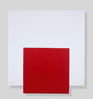 , 'Red, On and Off,' 2018, Berry Campbell Gallery