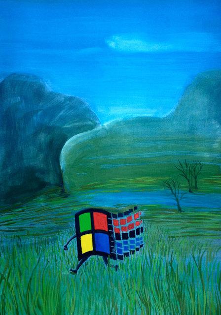 , 'Windows 95,' 2015, Federico Luger (FL GALLERY)