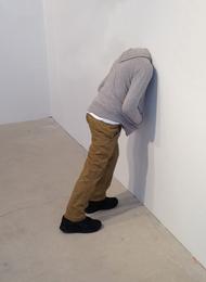 Mark Jenkins, 'Headinthewall(child),' 2013, Fine Art Auctions Miami: Major Street Art