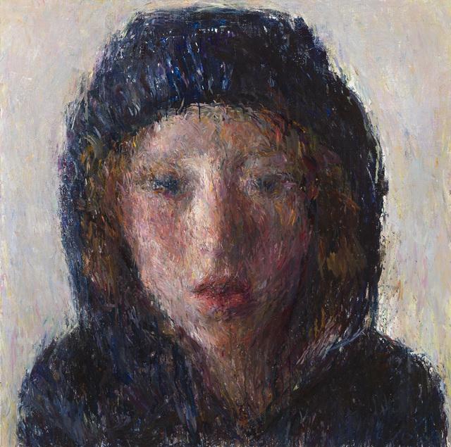 , 'Natan et la capuche,' 2017, Galerie Koch