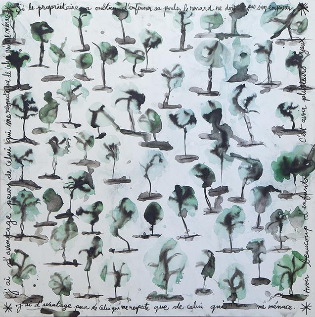 , 'Reforestation,' 2018, Nosbaum & Reding