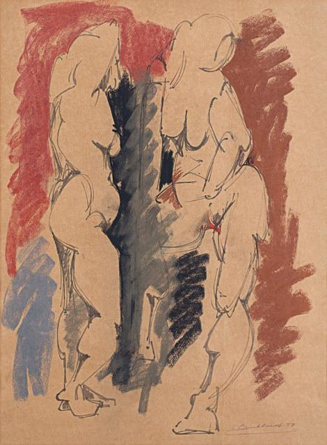 , 'Figures,' 1950, Rosenberg & Co.