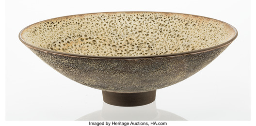 Earth Toned Crater Bowl