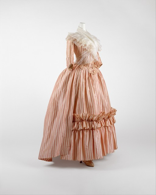 Unknown French, 'Robe à l'Anglaise', 1785–1787, The Metropolitan Museum of Art