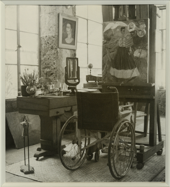 , 'Untitled (Frida's bedroom, Frida Kahlo Museum in Coyoacán) ,' 1964, Galerie Sophie Scheidecker