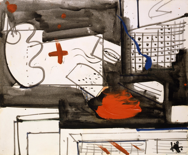 , 'Untitled,' ca. 1949, Peyton Wright Gallery