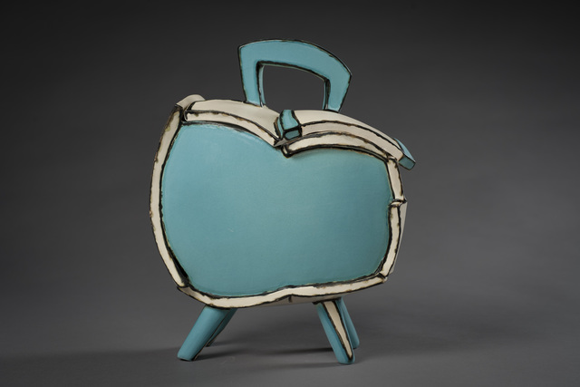 , 'Tuquoise Box,' 2018, Eutectic Gallery