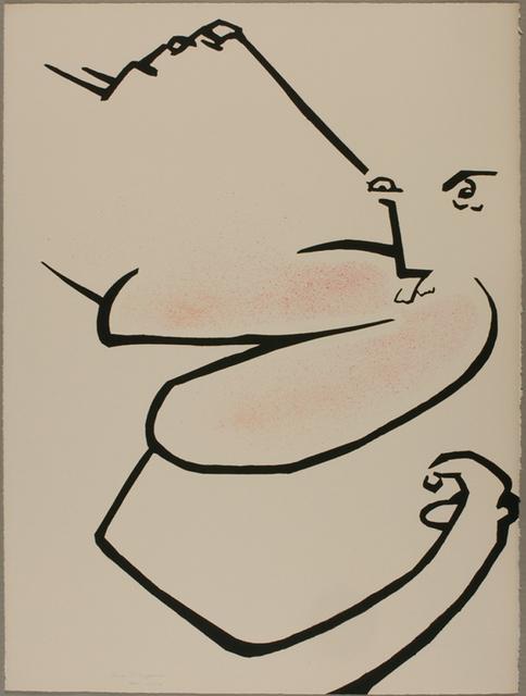 , 'Cronus There,' 1972, Tamarind Institute