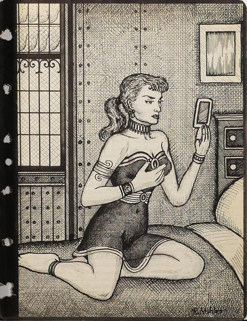 Renaldo Kuhler, 'Judith Garland in her Room at Forth Worlem Federal Prison', 1957, Ricco/Maresca Gallery