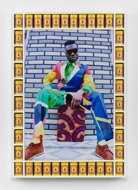 , 'Afrikan Boy Sittin',' 2013, Stephen Friedman Gallery