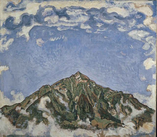 , 'Der Niesen vom Heustrich aus,' 1910, Art Gallery of Ontario (AGO)