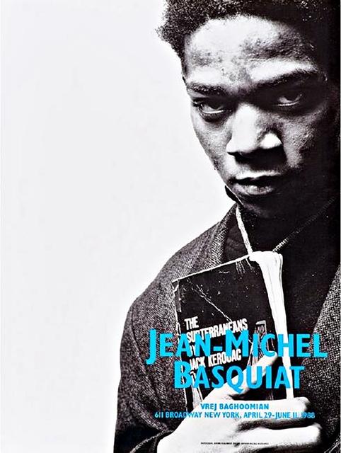 , 'Portrait with Jack Kerouac (Basquiat's final exhibition),' 1988, Alpha 137 Gallery