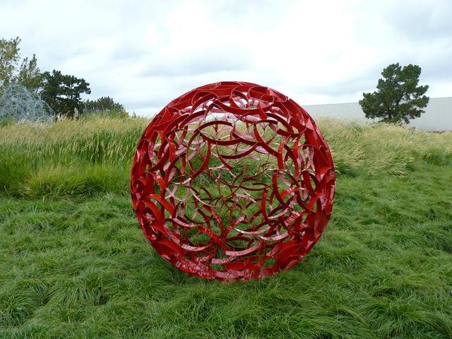 , 'Red Sphere 72,' , Sculpturesite Gallery